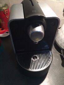 Krups Nespresso Coffee Machine for sale
