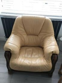 LEATHER CHAIR-