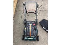 BMC Lawn Racer Self Propelled Electric Petrol Lawnmower RRP £350