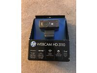 HP webcam HD-3110 (new in box)
