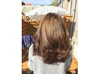 Freelance hairdresser and barber specialising in hair extentions, luxury colour and cutting