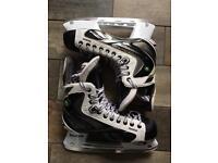 Reebok White K Ice Hockey Skates