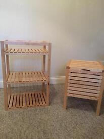 IKEA Molger Rack and Chest £40 Ono
