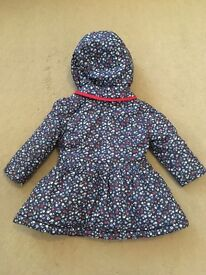 Baby coat size 6-9 months