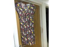 Bargain Boden floral dress size 8
