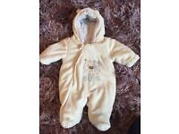 Mothercare Tiny Baby (up to 7.5 lbs) Pramsuit