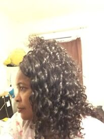 London Professional mobile Hair dresser for Afro and European hair, Weave extension
