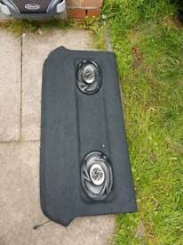Honda civic parcel shelf with speakers 5door
