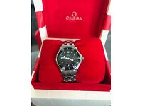 Omega Seamaster Professional 300m Female Watch; Excellent Condition; Original Boxing and Paperwork
