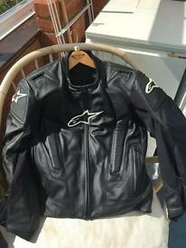 morcycle leather jacket