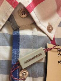 Men's long sleeve Burberry shirt