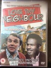 LOVE THY NEIGHBOUR DVD. complete series . - NOW REDUCED! new unopened (sealed)