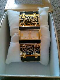 Ladies Bracelet Watch with box. £4.00. Can Post.