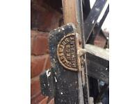 Hatherley wooden vintage step ladder