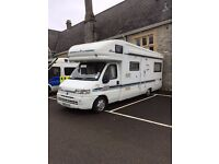 CHUDLEIGH 1998 6 Berth Autotrail Scout with a powerful 2.5 Turbo Diesel engine with many extras