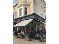 Full & part time Barista/waiting staff required