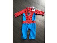Spider man uv suit age 2-3