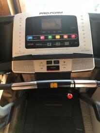 Treadmill pro form 710