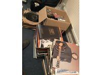 A collection of vinyls LP`s,Singles