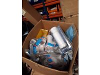 ASSORTED PIPING AND PLUMBING MATERIALS
