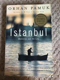 Book: Istanbul by Nobel Prize winner Orhan Pamuk