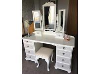 Bespoke Dressing Table, Stool & Mirror