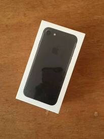 Iphone 7 32gb Matt black brand new box