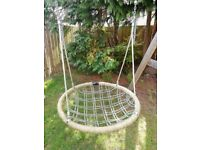 Heavy Duty Nest Swing and Wooden Frame