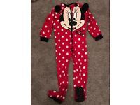 Minnie Mouse All-in-One, Onesie, Onsie Age 4-5 pyjamas