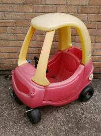 Little tikes children's Red car