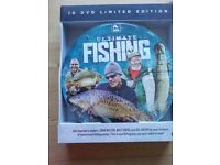 Brand New Fishing DVD Set - Matt Hayes-John Wilson-Kev Green 10 disc Limited Edtn