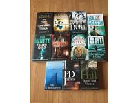 NEW & UNREAD crime fiction books