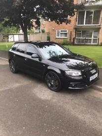 Audi A3 black edition 2.0 170bhp