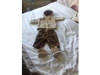 Boys designer label outfit. Jean Bourget aged 3 months in perfect condition.