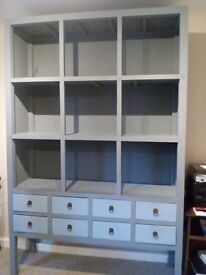 Contemporary Wooden Large Dresser Display Cabinet