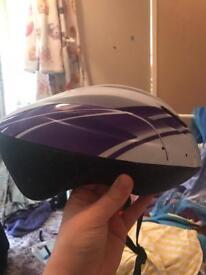 Girls bike helmet