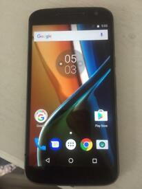 Moto G4 16GB unlocked - needs charger and USB port work