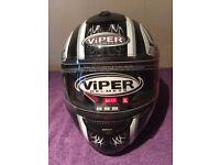 2 brand new full face motorcycle helmets