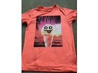 NEXT Ice cream T-shirt boys age 7