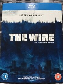 The Wire Box Set Blu Ray