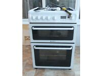 Freestanding Hotpoint Gas Cooker with Electronic Ignition