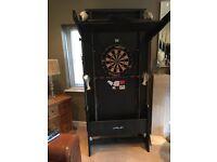 Riley Snooker/pool table inc unicorn Dart board on base