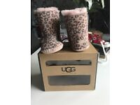 Baby soft bottom ugg boots