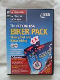 The Official DSA Biker Pack - Theory Test & Better Biking DVDs