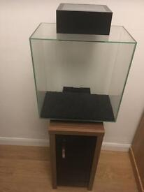 Fluval edge fish tank and stand 46lt