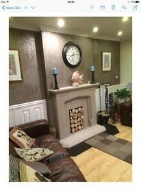 2 double rooms 1 ensuite double room available April