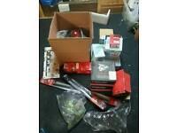 Job lot of mixed motor parts all new