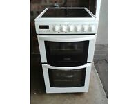 Tricity Bendix SE340W Ceramic Top Electric Cooker