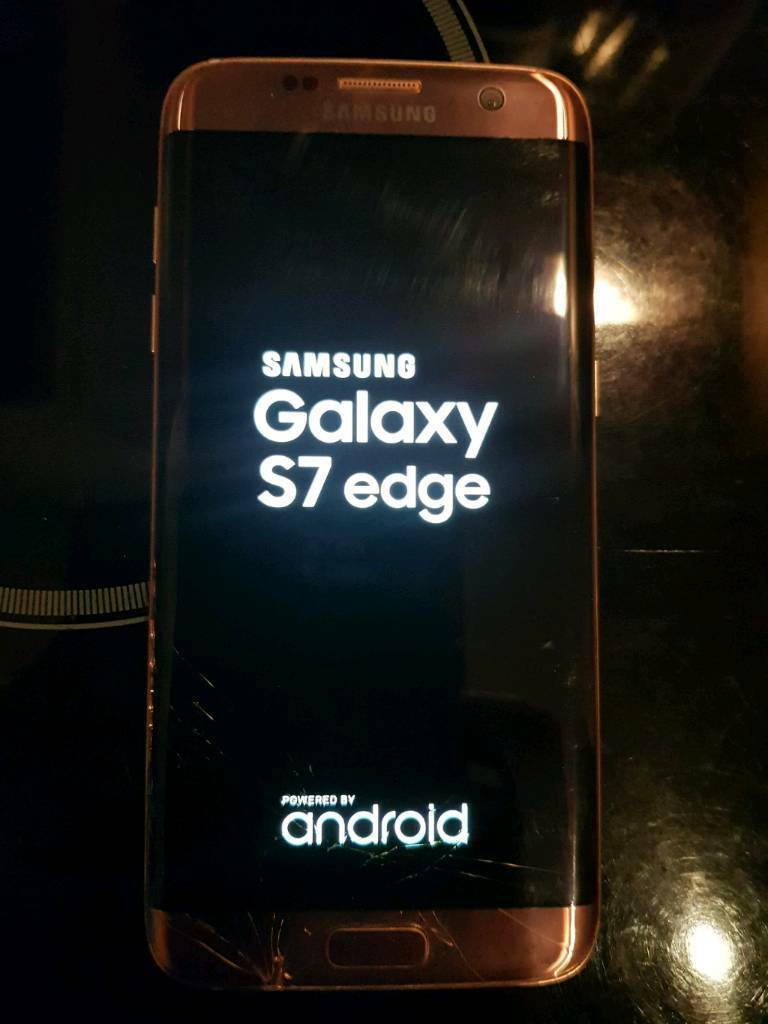 Samsung S7 Edge - SM G935F Rose Gold Spares or Repair | in Wisbech,  Cambridgeshire | Gumtree
