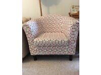 Spotty armchair